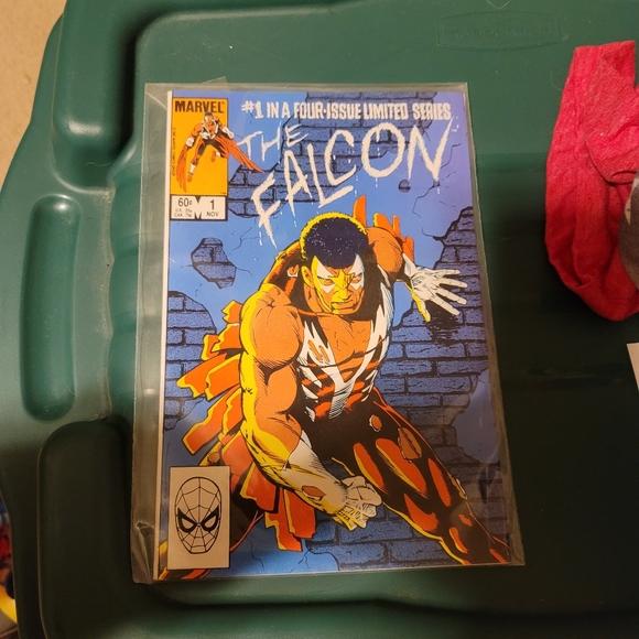The falcon comic book